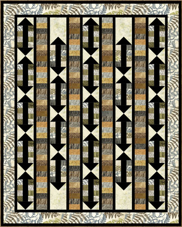 This End Up Quilt Pattern - 56
