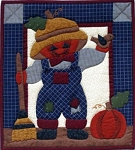 Pumpkin Head Wall Hanging Kit - 13