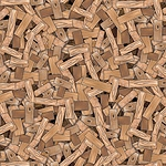 Building Up - Wood Pile  - Brown