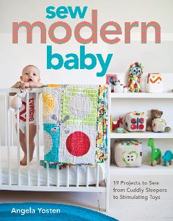 Sew Modern Baby Softcover Book