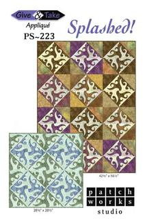 Splashed! Quilt Pattern  - 42 1/2