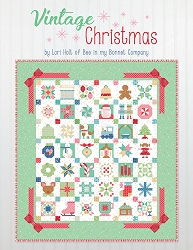 Vintage Christmas Soft Cover Quilt Book