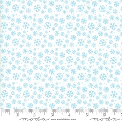 Jolly Season Snowflakes - Snow