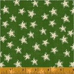 Craft Paper Christmas Stars - Green