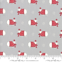Country Christmas Sheep Sweater Weather - Dusty Grey