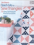 Teach Me to Sew Triangles Quilt Book