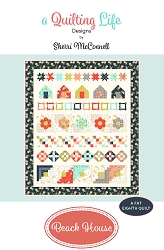 Beach House Quilt Pattern - 49'' x 58'' - Fat Eighth Friendly - February 2021