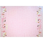 Magic Flannel - Magical Parade Double Border - Blossom