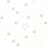 Magic Flannel Lucky Stars - Pink