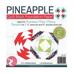 6'' Pineapple Foundation Paper - Finished