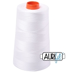Aurifil 50 wt 100% Cotton Mako Spool Thread - Natural White