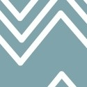 Ziggy - Chevron - Blue