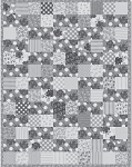 Two Charms Plus FREE Mfg. Quilt Patern - 45'' x 58 1/2''