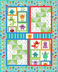 Wednesday Quilt Pattern - 47 1/2