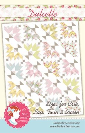 Dulcette Quilt Pattern by It's Sew Emma for Moda Fabrics - Multiple Sizes