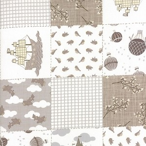 Storybook - Patchwork Yardage - Stone - Kate & Birdie Paper Co. for Moda Fabrics