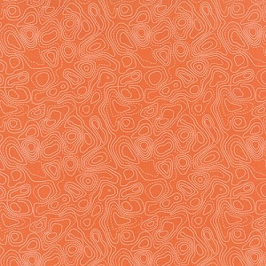 Flow Floating - Orange - Zen Chic for Moda Fabrics yardage
