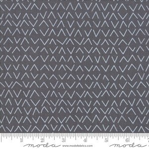 Day in Paris Modern Arrows - Graphite - by Zen Chic for Moda Fabrics yardage