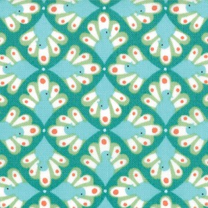 Birds & Berries by Lauren & Jessi Jung for Moda Fabrics yardage - 3.5 yds remaining - sold as one piece