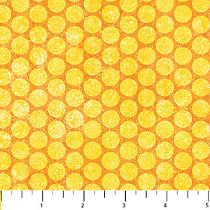 Stonehenge Yellow Tonal Dots - Linda Ludovico & Deborah Edwards for Northcott Fabrics yardage