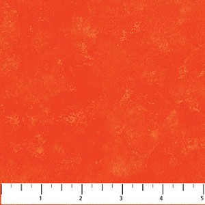 Red Mottled Fabric - Deborah Edwards for Northcott Fabrics yardage -1.875 yds remaining - sold as one piece