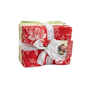Christmas Figs II Fat Quarter Bundle includes 24 fat quarters from the collection by Fig Tree & Co. for Moda Fabrics - Ships August 2020