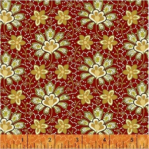 Crazy for Shelburne by Shelburne Museum for Windham Fabrics yardage - 1.5 yds sold as one piece