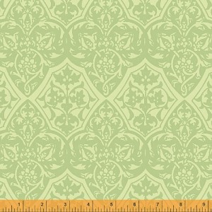 Holiday Magic Tapestry - Green - Whistler Studios for Windham Fabrics yardage - 6.5 yds remain - must leave min 1 yd on bolt