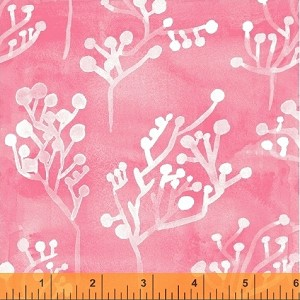 Sunnyside - Seaplant - Pink - Sara Franklin for Windham Fabrics yardage