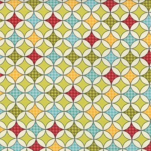 Wishes - Wrapping Paper - Lt. Green - Sweetwater for Moda Fabrics yardage - 1.66 yds remain - sold as one piece