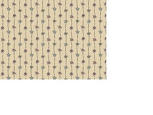 Downton Abbey - Dotty Stripe - Tan - Kathy Hall for Andover Fabrics yardage