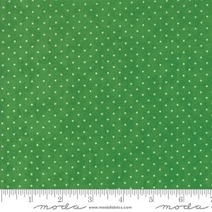 Essential Dots - Kelly Green by Moda Fabrics yardage - dots are 1/16''