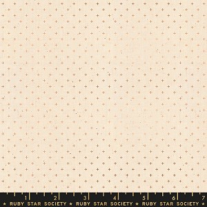 Add It Up Copper Metallic by Alexia Abegg for Ruby Star Society yardage. This product has Metallic Accents