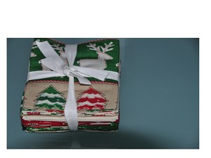 Craft Paper Christmas Fat Quarter Bundle includes 10 fat quarters by Whistler Studios for Windham Fabrics