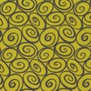 Black Swirls on Lime Green - Michael Miller Fabrics Yardage - 3 yds remaining - sold as one piece