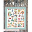 Welcome back to Lori Holt's farm with Farm Girl Vintage 2! It's Sew Emma is excited to bring even more quilt blocks and projects for all Farm Girl Vintage fans to enjoy. Lori has rounded up 45 unique 6'' and 12'' quilt blocks inspired by her rural roots. She has also designed 13 new projects in this book, including quilts, pillows, a pincushion and of course a fantastic new sampler quilt! As always, quilters can mix and match quilt blocks from Lori's previous books, so they can piece together endless possibilities.  201 pages Spiral-bound, soft cover