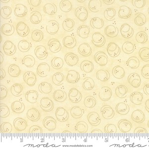 Forever Green Circle Print - Tonal Cream by Holly Taylor for Moda Fabrics yardage