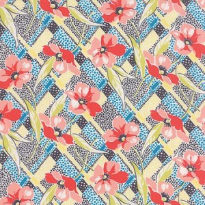 Gardenvale Floral Dots - Multi - Jen Kingwell for Moda Fabrics yardage - 4.5 yds remain - must leave min. 1 yd on bolt