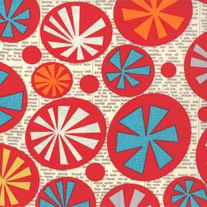 Mod Century Starburst by Jenn Ski for Moda Fabrics yardage - full cuts only