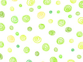 Crayola - Ready, Set Color! - Squiggles - Green - Quilting Treasures Fabrics yardage - 2.875 yds remaining - sold as one piece