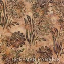 Hand-Painted Bali Batiks - Balsam - Hoffman Fabrics yardage - 3.625 yds remaining - Must leave 1 yd on bolt