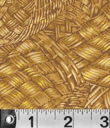 Harvest Light Basketweave  by P&B Textiles yardage - 1.875 yds remain - sold as one piece