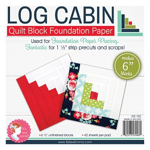 6'' Log Cabin Foundation Paper (finished)