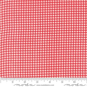 Essentially Yours Check - Lipstick by Moda Fabrics yardage