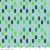Little Ark - Ark Stripe - Blue - Carina Gardner for Riley Blake Designs yardage - 1.875 yds remaining - sold as one piece