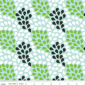 Little Ark - Rain - Green - Carina Gardner for Riley Blake Designs yardage