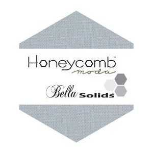 "Honeycomb Hexagons - Silver - 40  6"" Hexagons by Moda Fabrics - FREE Tutorial sheet included with purchase!"