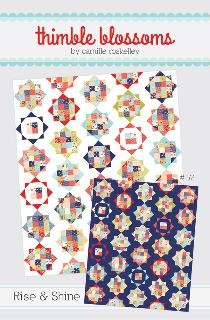 Rise & Shine Quilt Pattern by Thimble Blossoms featuring Miss Kate Fabrics by Bonnie & Camille for Moda Fabrics - $9.00