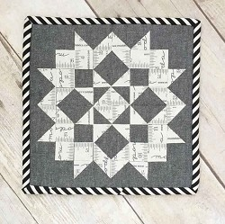 Moda Love FREE Mfg. Quilt Pattern can be made in various sizes using various precuts (Layer Cake, Charm Pack or Mini Charm). - by Moda Fabrics