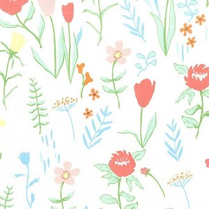 Sommer Plockade*  - by Sarah Jane for Michael Miller Fabrics yardage  - *Plockade = Scandinavian translation = to cull, gather or pick